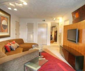 Living Room, Cambridge Apartments