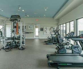 Fitness Weight Room, The Residence at Lake Jackson