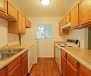 Kitchen, Whispering Willows Apartments