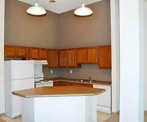 Kitchen, Straus Lofts