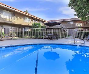 Pool, Camino, Pueblo & El Rancho Apartment Homes