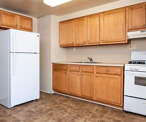 Kitchen, Pleasantview Apartments