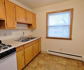 Kitchen, Rose Park Apartments