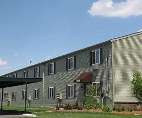 Building, Maple Creek