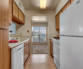 Kitchen, High Plains Apartments
