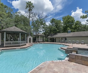 Pool, The Retreat at Lakeland Apartments