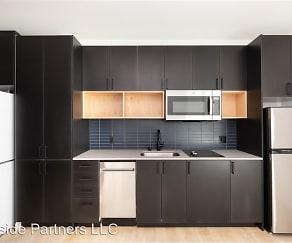 Kitchen, Track 66 Apartments