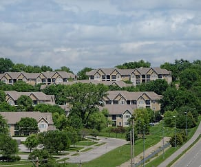 View, Pinnacle Woods Apartments