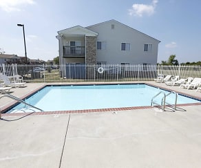 Pool, Camby Crossing Apartment Homes