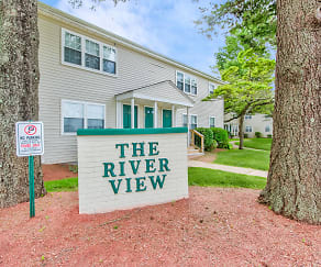 Community Signage, The River View Apartments