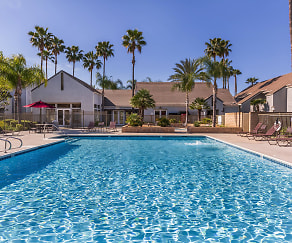 Pool, Palm Court Apartment Homes