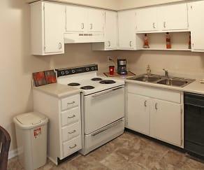 Kitchen, Pegasus Place Apartments
