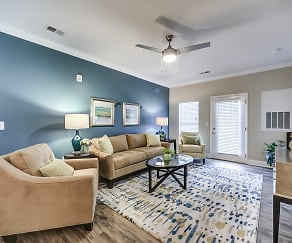 Living Room, 54 Station Apartment Homes