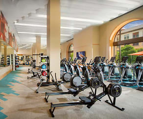 Fitness Weight Room, Santa Clara Square