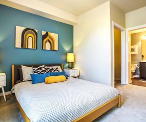 Bedroom, Bailey Farm Apartments