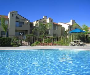Pool, Cottonwood Ranch Apartments