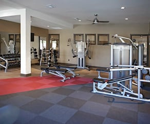 Fitness Weight Room, Tuscany Apartments