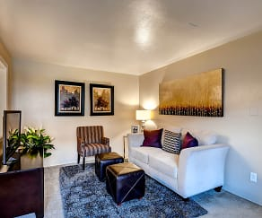 Living Room, Park Place Apartments