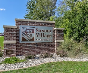 Community Signage, Saxony Village
