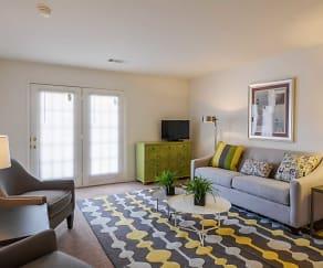 Living Room, The Vistas at Dreaming Creek