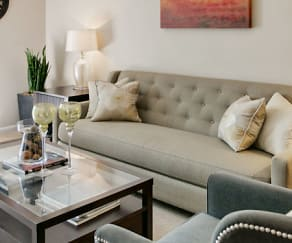Living Room, The Gramercy At Town Center