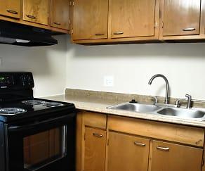 Kitchen, Peri Apartments