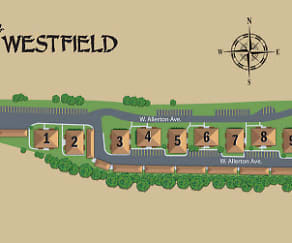 Enjoy proximity to Root River Parkway and a gorgeous campus layout, Westfield