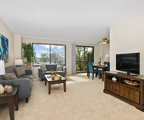 Living Room, Plaza Towers Apartments