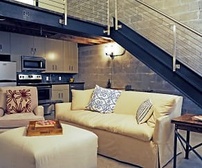 Living Room, The Warehouse Lofts