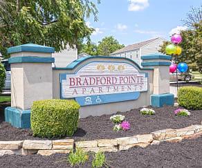 Community Signage, Bradford Pointe Apartments