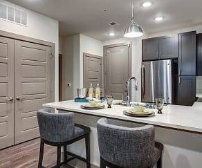 Kitchen, Enclave at Woodland Lakes