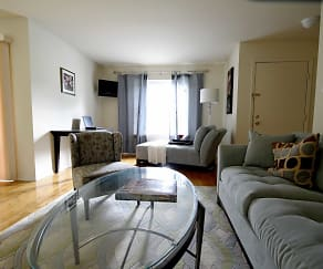 Living Room, Mt. Pleasant Villas