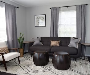 Living Room, Brandywine Townhomes