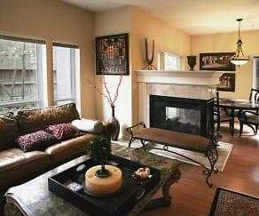 Living Room, Milano Apts. Homes