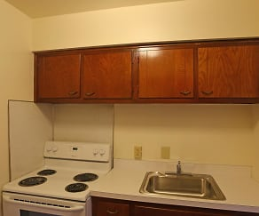 Kitchen, Hanover Manor Senior Apartments