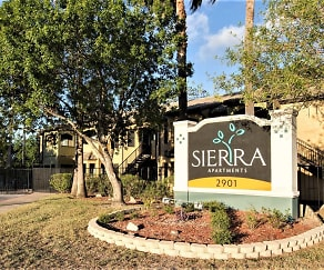 Community Signage, Sierra Apartments