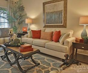 Living Room, King's Quarters at Jack Britt