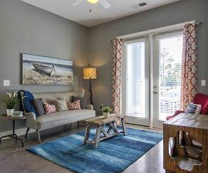 Living Room, The Lively at Carolina Forest
