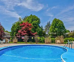 Pool, Maple Ridge Apartments