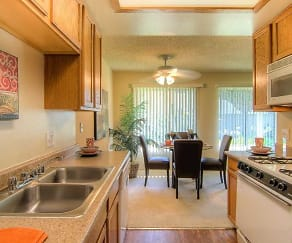 Kitchen, Brooklake Apartments