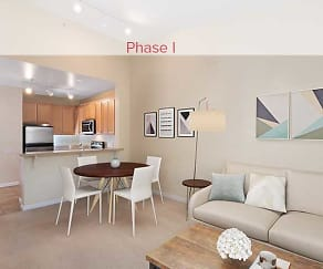 Upgraded Finish Living, Dining, and Kitchen, Avalon San Bruno