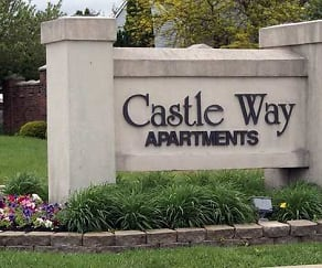 Community Signage, Castle Way Apartments
