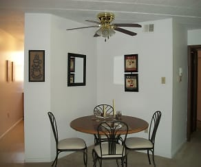 Dining Room, Summit Apartment