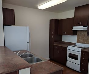 Kitchen, Horizon Apartments