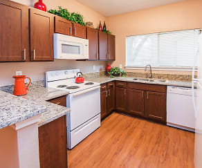 Kitchen, Villas of Preston Creek