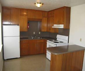 Kitchen, Monaghan Apartments