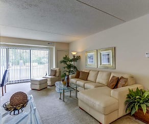 Living Room, Kimberly Park Apartments