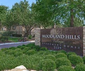 Community Signage, Woodland Hills Village