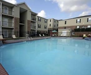 Pool, Belmont Apartments