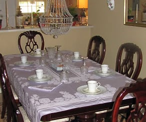 Dining Room, Pinebrook Apartments